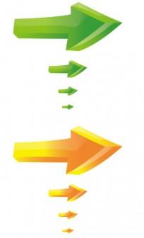 矢印のイラスト・アイコン素材素材(クリスタル風の透明感) Webフリー・無料素材NESOUP
