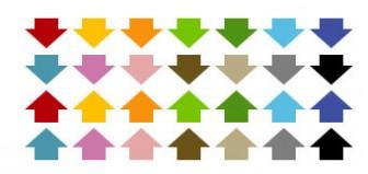 大きめの矢印アイコン | ホームページ素材@ImageLife ~プロが作る無料ホームページ素材~