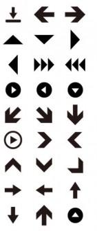 双方向矢印の無料アイコン - EPS/PNG 【フリー素材・商用可・リンク不要・著作権表示不要】