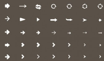 Arrow Icons - Freebies Gallery