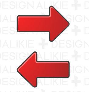 矢印フリーのイラスト素材|dakImage