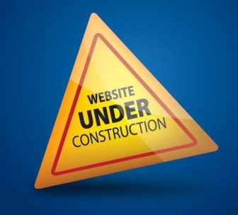 Under Construction Vector Graphic — warning