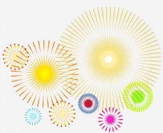 花火のイラスト | 無料イラスト作成ソフトInkscape(インクスケープ)の作品集