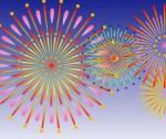 花火のイラスト(背景透過) : 無料イラスト・フリー素材を紹介するブログ