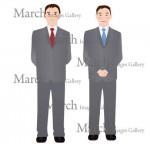 スーツの男性のイラスト素材|クリップアートとベクター画像のMarch Images Gallery