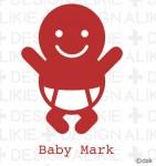 赤ちゃんマークのイラスト素材|dakImage