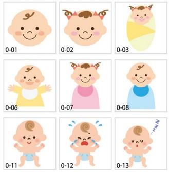 「赤ちゃんのイラスト」「赤ちゃんの写真」フリー素材が無料