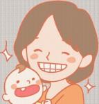 歯科フリー無料イラスト素材 アルファージール » 赤ちゃんとお母さん