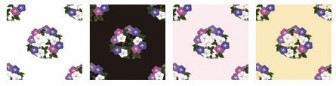 粋屋-日本の伝統文様と伝統色 花丸文様
