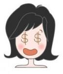 顔の表情(女の子)の無料イラスト|イラストレーター素材(AI・EPS・商用可能)