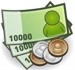 [フリー素材] 紙幣と硬貨のお金のイラスト (cc-library010005435) | CCライブラリー 【フリー素材集】