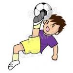 スポーツののイラスト【サッカー】