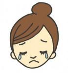 泣き顔 泣き顔 – 無料イラスト素材「からだピクチャー」(商用フリーのイラスト集)