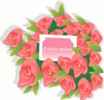 花束のイラスト素材(ギフト・プレゼントに使えるベクターデータ) - Free-Style