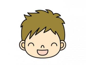 イラスト 笑顔 男の子