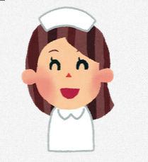 看護婦さんのイラスト「笑った顔・怒った顔・泣いた顔・笑顔」: 無料イラスト かわいいフリー素材集