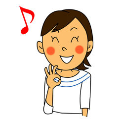 笑顔の女性のイラスト素材 無料・フリー版有り | 素材の恵み