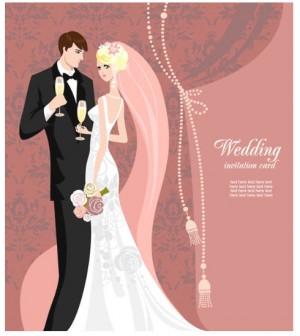 結婚式の招待状や式次第に使える、かわいい無料イラストまとめ   インスピ
