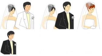 結婚のイラスト素材集