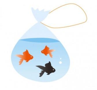 金魚・夏祭りイラスト素材   イラスト無料・かわいいテンプレート