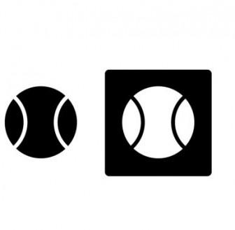 野球ボール・シルエットイラスト素材 | イラスト無料・かわいいテンプレート