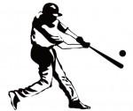 野球シルエット | フリー素材配布サイト。シルエット素材。aiデータ。商用フリー素材。