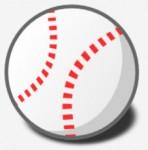 野球のボールのイラスト | 無料イラスト作成ソフトInkscape(インクスケープ)の作品集