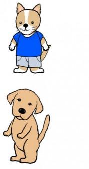 犬  柴犬 ラブラドール チワワ パピョン パグ 動物のイラスト素材 無料テンプレート