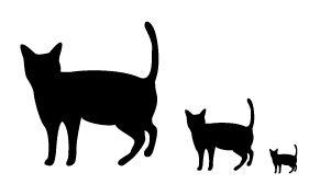 商用利用可・無料!猫素材・猫イラスト【にゃいちもん】 : 猫イラスト フリー素材