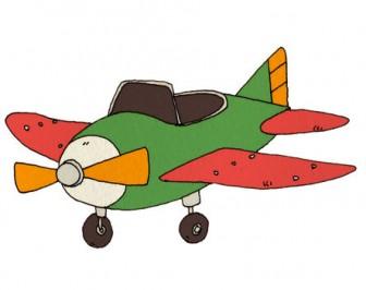 飛行機の無料イラスト   かわいいイラストならイラストレイン