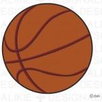バスケットボールのイラスト素材|イラストイメージ (ii)
