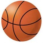 バスケットボールのイラストフリー素材