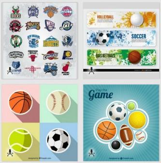 バスケットボールに関するグラフィック素材