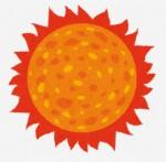 太陽のイラスト: 無料イラスト かわいいフリー素材集