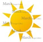 太陽のイラスト素材|クリップアートとベクター画像のMarch Images Gallery