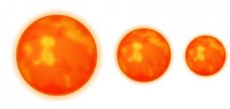 惑星-太陽 - アイコン素材