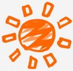 マンガ調の太陽のイラスト | 無料イラスト作成ソフトInkscape(インクスケープ)の作品集