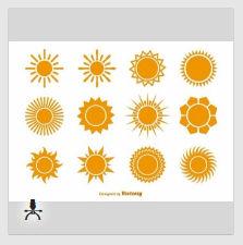太陽に関するグラフィック素材