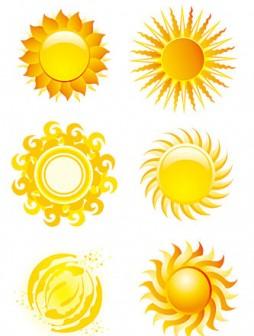 太陽のクリップアート、イラスト素材まとめ【無料ベクター】 | DotsDomino