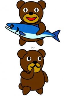 クマのイラスト イラストカット