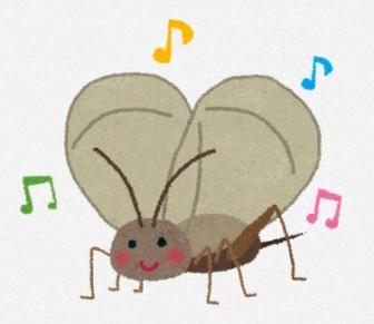 鈴虫のイラスト: 無料イラスト かわいいフリー素材集