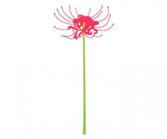 彼岸花のイラスト3 | 花、植物イラスト Flode illustration (フロデイラスト)