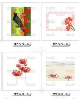 彼岸花 | 花のイラスト素材集 - 花・はな スクウェア