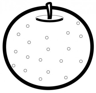 かわいい梨の無料イラスト・商用フリー | オイデ43