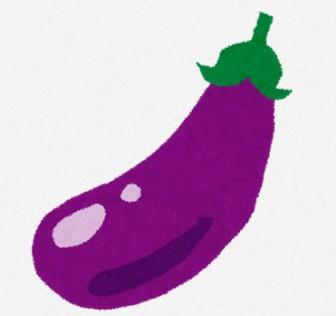 ナスのイラスト(野菜): 無料イラスト かわいいフリー素材集