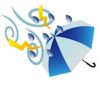 天気・台風・嵐マークのイラスト素材 | イラスト無料・かわいいテンプレート