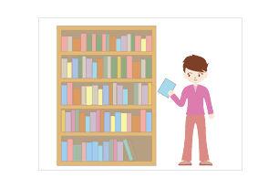 図書館 - 本棚|season