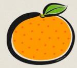 みかんのイラスト2 : ぱちくり屋のPOP-BLOG