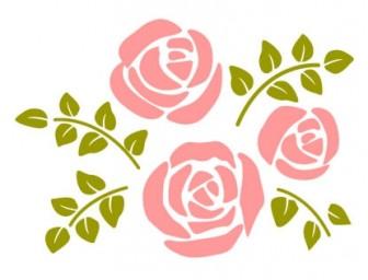 バラのイラスト素材   イラスト無料・かわいいテンプレート