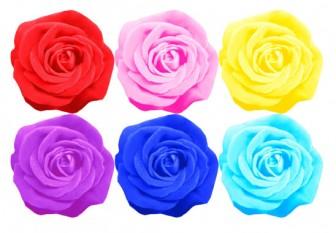 花イラスト無料素材: バラの花の無料イラスト素材